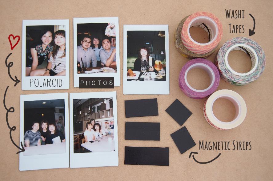 craft life how to make polaroid photo magnets i am toktomato